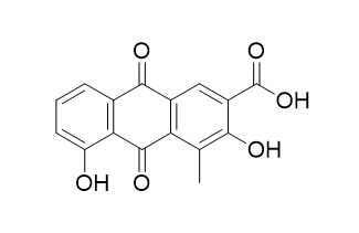 1-Methyl-2,8-dihydroxy-3-carboxy-9,10-anthraquinone