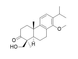 3,4,4a,9,10,10a-heexahydro-8-hydroxy-1-(hydroxymethyl)-1,4a-dimethyl-7-(1-methylethyl)-phenanthrene-2(1H)-one