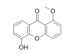 5-Hydroxy-1-methoxyxanthone